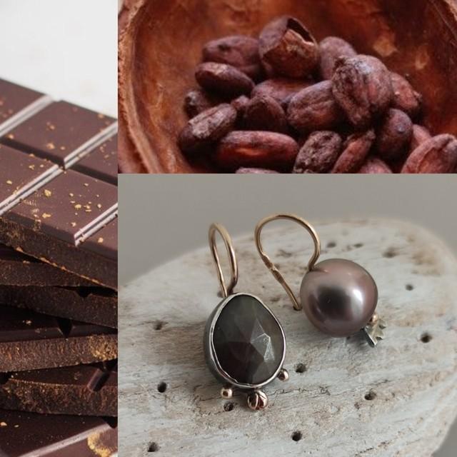 šokoladas ir kakavos uoga